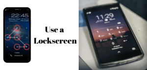 Tips on How To Make Android as Secure as Possible - Use a Lockscreen