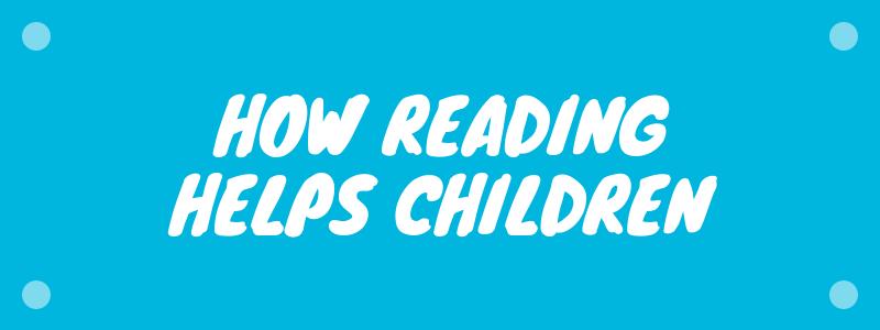 how reading helps children infographics