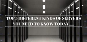 Read more about the article Top 5 Different Kinds of Servers you need to know Today.....