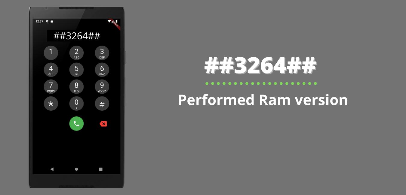 Performed Ram version